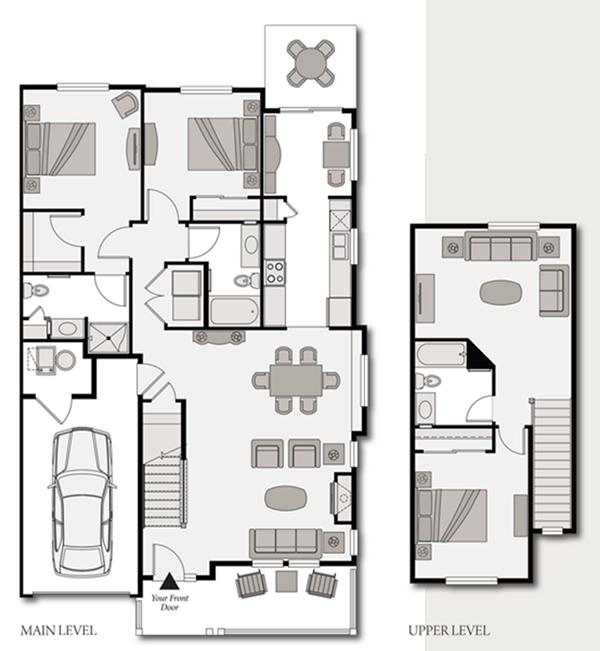 Denver Senior Cottage Floorplan